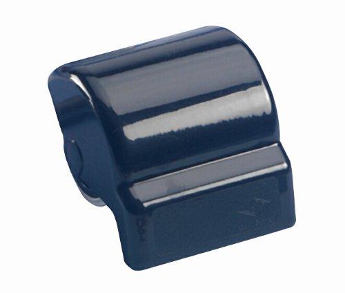 Wedo 80201 Rolllöscher, ABS Kunststoff, eingebaute Rolle aus Löschpapier, 6,4 x 8,4 x 8,7 cm, schwarz