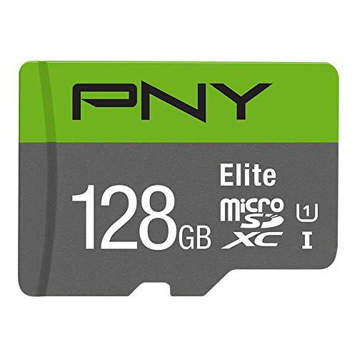 PNY 128GB Class 10 Micro SD Memory Card (PFUXC1281U1R100-BR20)