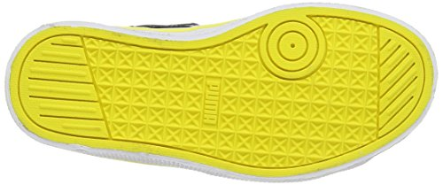 Puma  Puma 1948 Mid Vulc SD V Kids, Baskets hautes mixte enfant Noir - Schwarz (black-black-blazing yellow 01)