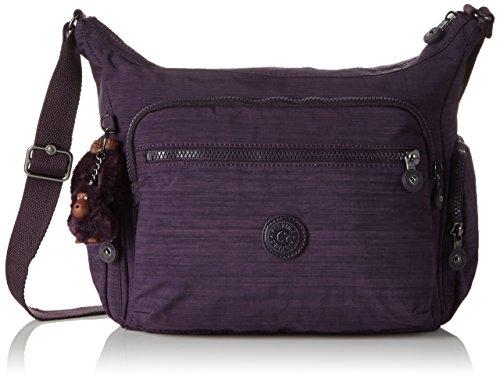 Kipling Gabbie, Sacs Bandoulière Femme, Violet (79W Dazz Purple), 35.5x30x18.5 cm