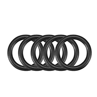 30Stk Nitril Butadien Gummi NBR O-Ring 1,8mm Innen Dmr 0,9mm Breite Schwarz