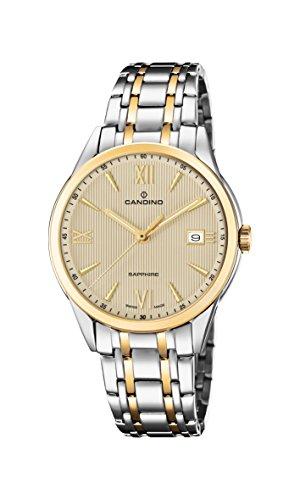 Candino Reloj Análogo clásico para Hombre de Cuarzo con Correa en Acero Inoxidable C4694/2