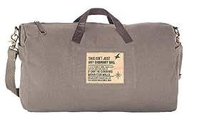 Fastrack Polyurethane Grey Messenger Bag (A0415CGY01)