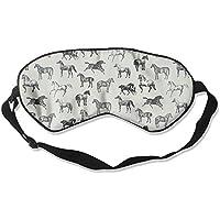 Sleep Eye Mask Horse Abstract Lightweight Soft Blindfold Adjustable Head Strap Eyeshade Travel Eyepatch E5 preisvergleich bei billige-tabletten.eu