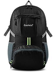 Gonex - Sac à dos pliable Sac sport pour ordinaire portable Sac imperméable unisexe- Pour camping, randonnée, voage, fitness Sac étanche de 35L