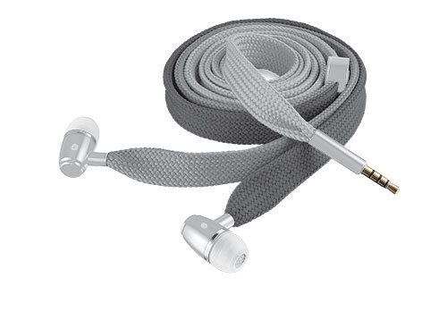 Trust Urban Lace - Auriculares in-ear (con micrófono), gris