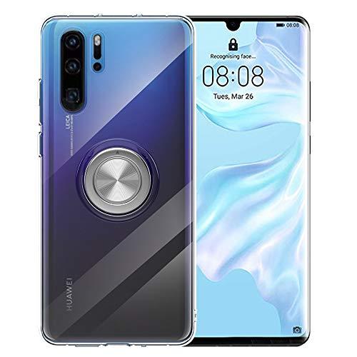 Preisvergleich Produktbild P30 Pro Hülle Klar Kompatibel mit Huawei P30Pro Phone Cover Magnetic Huwai Huewei P 30 Pro Bumper Schutz 6.47 Zoll (klar)