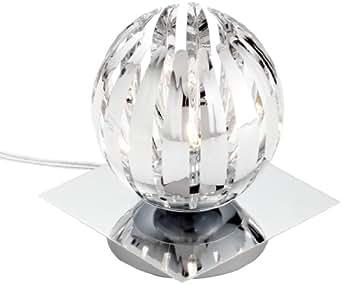 trio leuchten 594010106 touch me lampe de table ampoule incluse 1x g9 28 w eco 4 intensit s. Black Bedroom Furniture Sets. Home Design Ideas