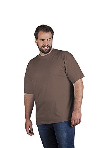 Premium T-Shirt Plus Size Herren, 4XL, Braun