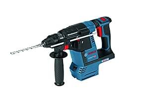 Bosch Professional 0611909001 GBH 18 V-26 Akku-Schlagbohrhammer ohne Akku, Tiefenanschlag, Zusatzhandgriff, L-Boxx ( Schlagenergie: 2, 6 J, Max. Bohrø: Mauerwerk/Stahl/Holz 68/13/30mm), 0 W, 18 V