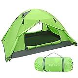 LULULION Wasserdicht Zelt für 2 Personen - Leicht Aufzubauen