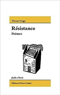 Résistance par Victor Serge