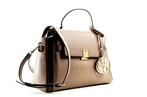 Guess Christy Top Handle bag Flap Mocha: Amazon.it