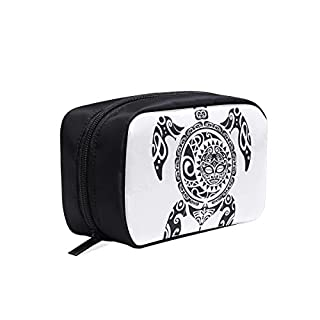 Cool Sashimi Pattern Portable Travel Makeup Cosmetic Bags Organizer Multifunction Case Small Toiletry Bags For Women And Men Brushes Case
