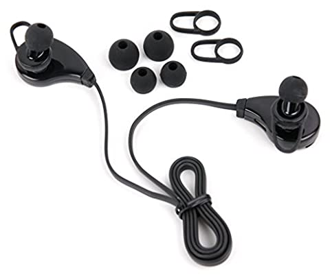 Wireless Bluetooth 4.0 Headphones with Microphone & Adjustable Ear-Bud Sizes for Motorola Moto C   Motorola Moto C Plus - by