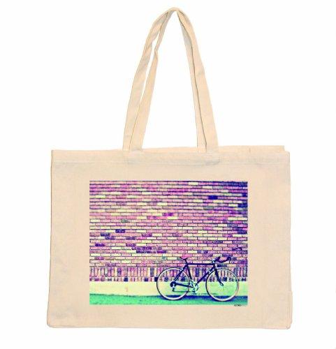 Unbekannt Nouvelles Images Retrospect RETH010 Tasche für Fahrrad und Ziegel, 36,57 x 50 x 15 cm