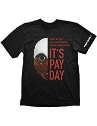 Payday 2 T-Shirt Wolf Mask, XXL [Importación Alemana]