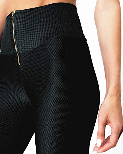 Savoy Active Nova Glam Body Sculpting Leggings - Black - 2