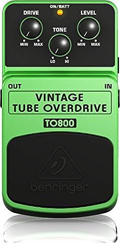 Behringer VINTAGE TUBE OVERDRIVE / TO800 Pédale