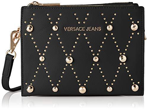 Versace Jeans Couture Damen Bag Umhängetasche, Schwarz (Nero), 8x15.5x23 Centimeters