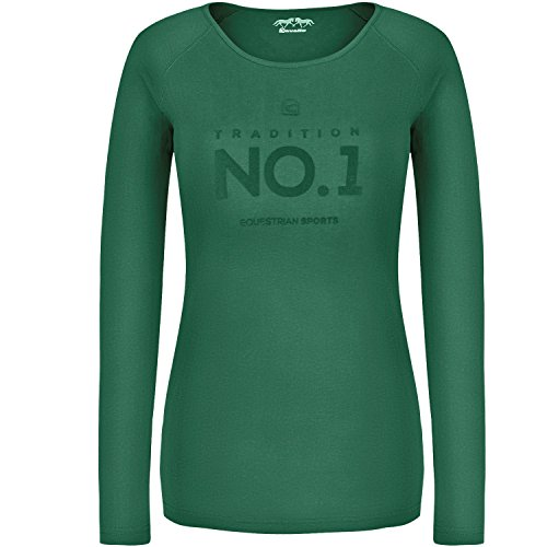 Cavallo Fury T-shirt en jersey Basic meadow green