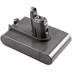 FSKE® DC35 DC44 DC34 DC31 DC45 Batterie pour Dyson Aspirateur à main Pièces de rechange 17083-04 917083-01 17083-2811 18172-01-04 17083-4211 Battery,22.2V 2000mAh 44.4W(Seulement pour Dyson Type B)