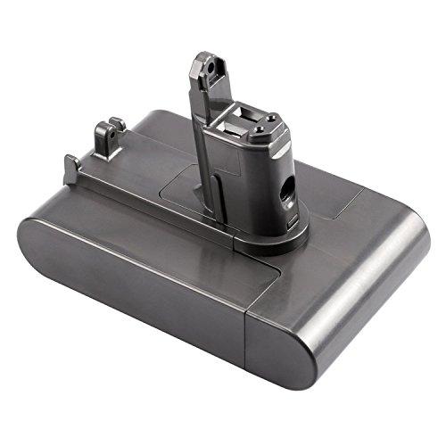 06 Ersatz-akku (FSKE® DC35 DC44 DC34 DC31 DC45 Akku für Dyson Handheld Staubsauger Ersatzteile 17083-04 917083-01 17083-2811 18172-01-04 17083-4211 Battery,22.2V 2000mAh 44.4W (Nur passend für Dyson Typ B))