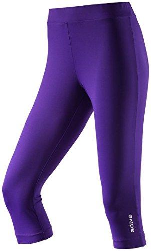 D-pantalon 3/4–noir-ambre - multicol/schwarz