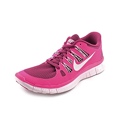 Nike Free 5.0, Chaussures de Running Femme Rose (Raspberry Red/Summit White/Pink Foil)