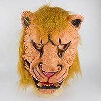 Yukun Máscara Los Animales de Halloween realizan atrezzo Las Partes Deben Tener Baile Divertido en el Club Nocturno Máscaras Decorativas de látex.D