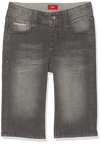 s.Oliver Jungen 62.906.72.5354 Shorts, Grau (Grey Denim Stretch 96z2), 140 (Herstellergröße: 140/BIG) Big Boys Pants