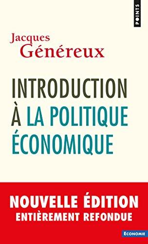 Introduction à la politique économique par Jacques Généreux