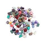 Artibetter Colgantes de Piedra de ágata de Cristal Natural de 20 Piezas de Cristales...