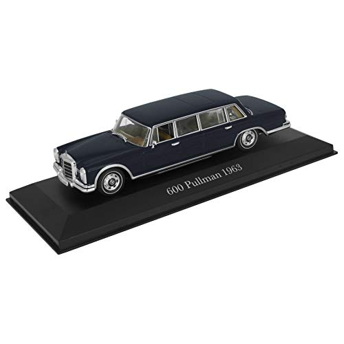 Modellauto Mercedes-Benz 600 Pullmann - 1963 (1:43) W100 W 100 - dunkelblau