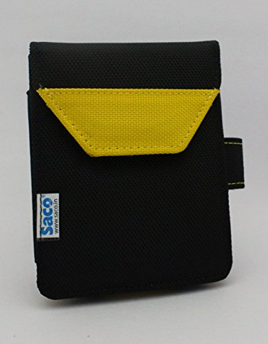 Saco Plug and play External Hard Disk Pouch Cover Bagfor Dell Backup Plus 1Tb USB 3.0 Portable Hard Drive - Yellow  available at amazon for Rs.180
