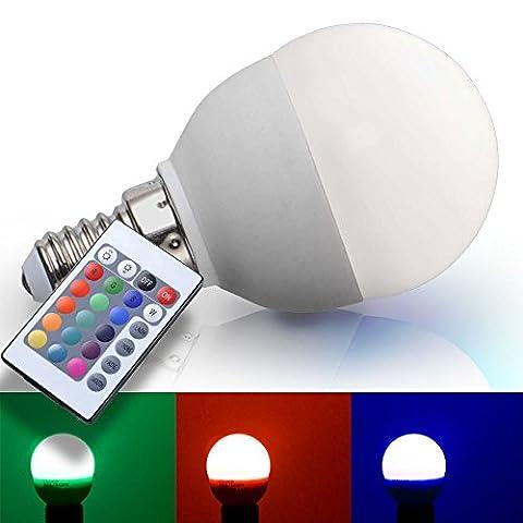 RGB LED E14 bulb 3.5 watt incandescent bulb lamp of