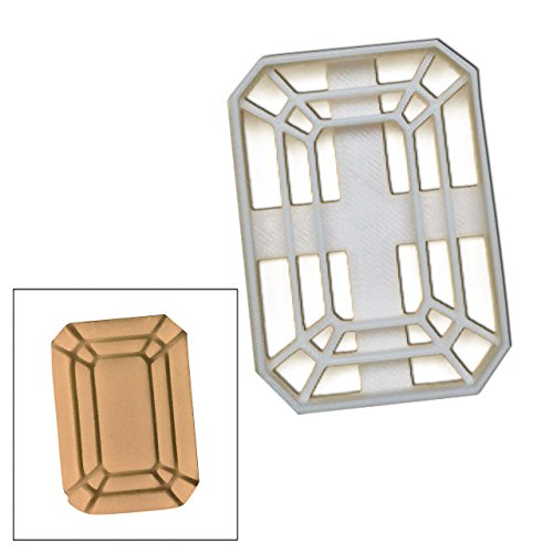 Gemstone Cookie Cutter, 1 pc, ideale per matrimoni o fata tema Glamorous partito (Fata Cookie Cutter)