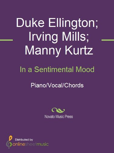 In A Sentimental Mood Ebook Duke Ellington Irving Mills Manny