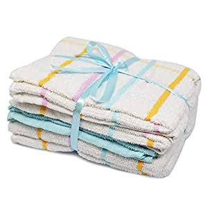 Terry Tea towels 100/% cotton Large thick dish cloth drying cleaning kitchen