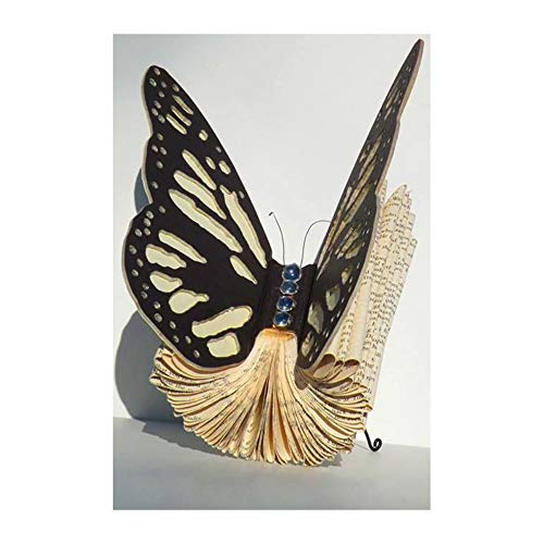 malerei kreuzstich Halloween Buch Schmetterling Handwerk Dekoration 5d Dekoration zubehör ()