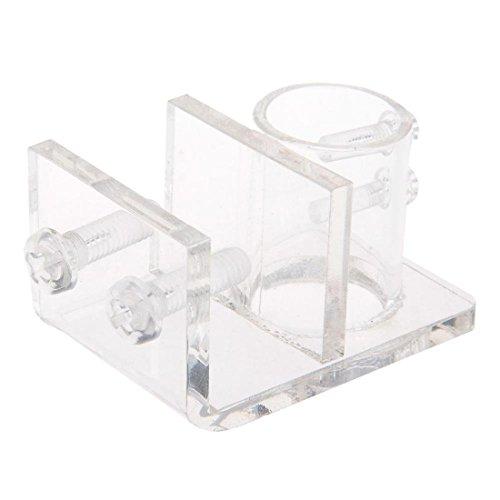 Acryl Aquarium Befestigungsklammer Rohrklemmhalter Clear Water Rohr bequeme - Ada Tank