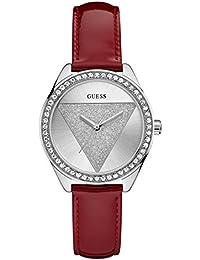 Guess Damen Tri-Glitz Uhr W0884L1 Grey Woman
