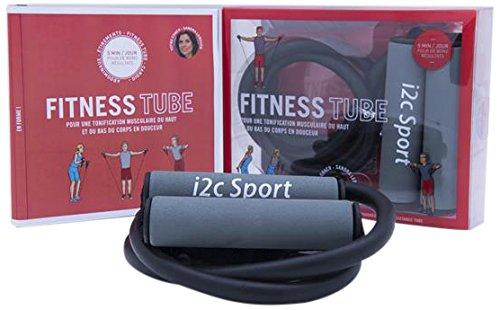 Fitness tube : Pour une tonification musculaire du haut et du bas du corps en douceur. Avec 1 résistance tube par Sandra Leboucq