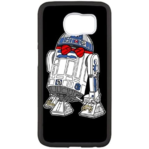 Star Wars Dapper R2 D2 2Noage cover samsung Galaxy S6 Cell Phone Case Black 3s158S Camo Phone Cases
