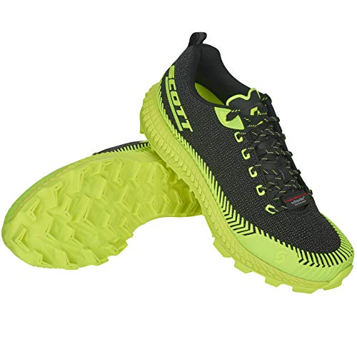 Scott, Scarpe da Trail Running Donna Nero Black/Yellow, Nero (Black/Yellow), 40 EU