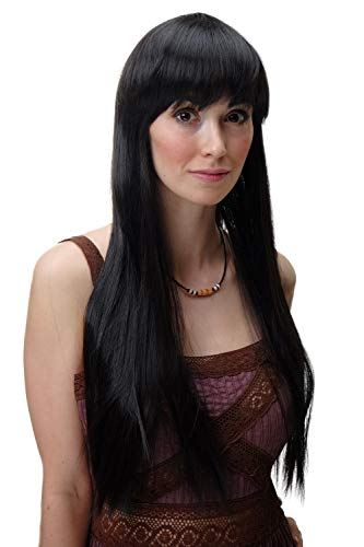 WIG ME UP YZF-41062-4 peluca mujeres muy larga lisa