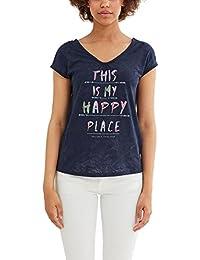 edc by Esprit 047cc1k016, T-Shirt Femme