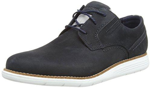 HUWSO|#Rockport Herren Total Motion Sport Dress Plain Toe Oxfords, (New Blues 002, 42 EU Motion Oxford