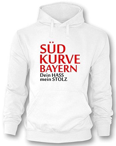 Südkurve Bayern - Herren Hoodie in Größe XL