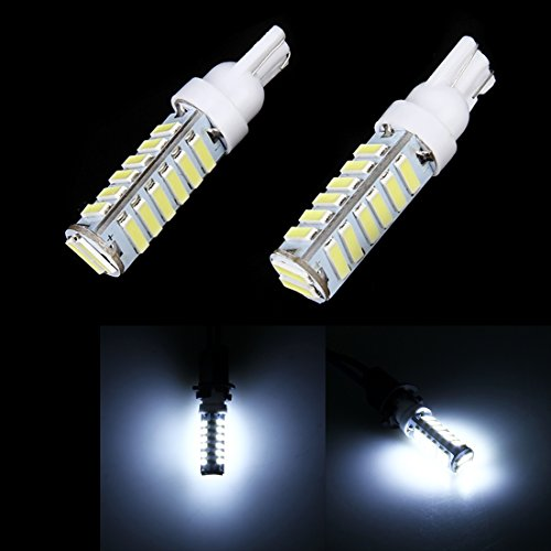 Éclairage DC 12V-24V, marqueur de jeu d'espace de voiture 2 PCS T10 / W5W / 194/501 1,5W 90LM 6000K avec 7020 20-SMD LED L'éclairage pour vous